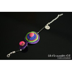 Bracelet coloré de créateur
