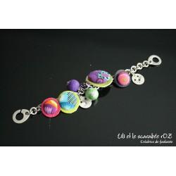 Bracelet coloré farandole