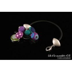 Bracelet fantaisie ludique et coloré