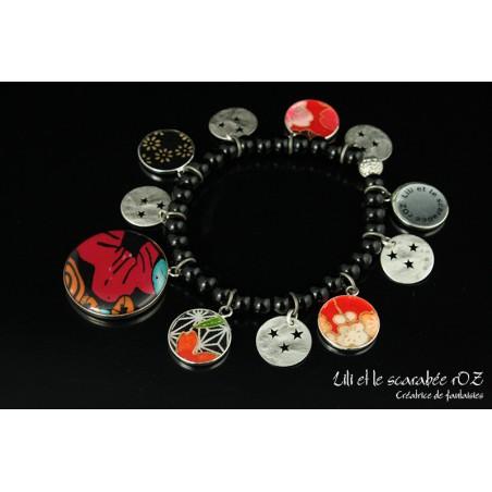Bracelet fantaisie coloré tzigane