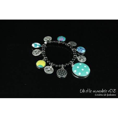 Bracelet tzigane coloré