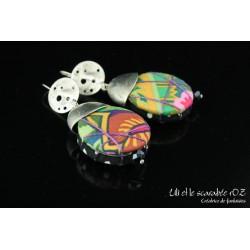 Boucles d'oreilles capsule