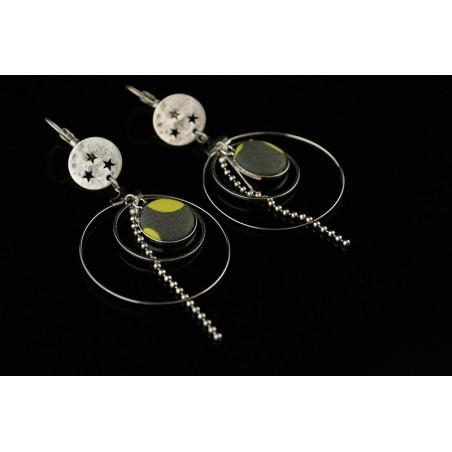 Boucles d'oreilles créoles originales