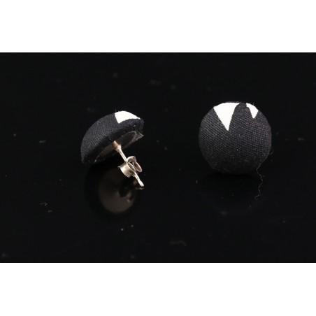 Boucles d'oreilles puces boutons