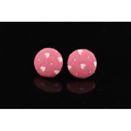 Boucles d'oreilles mini boutons