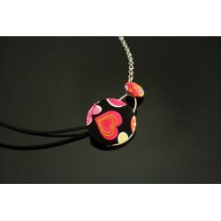 Headband à boutons colorés