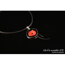 Collier pendentif Poppy