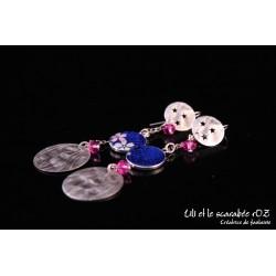 Boucles d'oreilles pendantes / PROS
