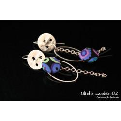 Boucles d'oreilles Osmose / PROS