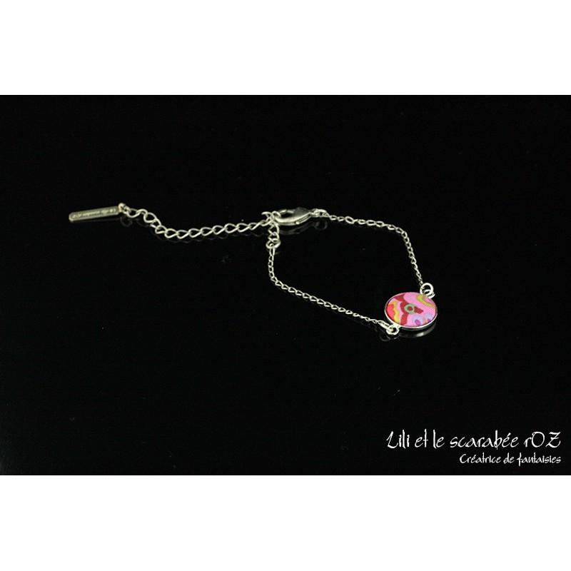 Bracelet médaillon rond / PROS