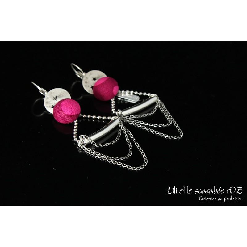 Boucles d'oreilles collection Acrobate